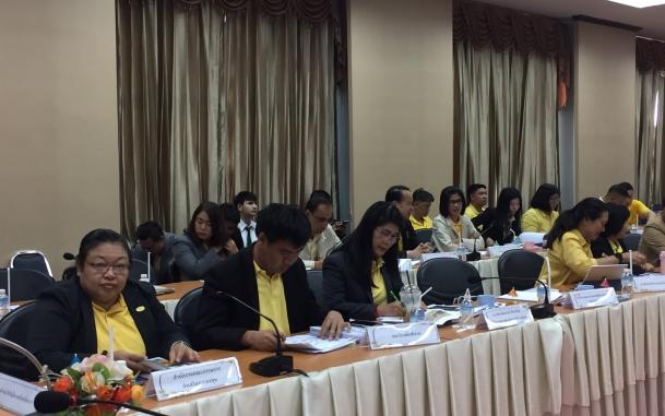 การประชุมชี้แจงการลงทุน และพาผู้ลงทุนดูพื้นที่เขตพัฒนาเศรษฐกิจพิเศษตาก อำเภอแม่สอด วันที่ 10 เมษายน 2562